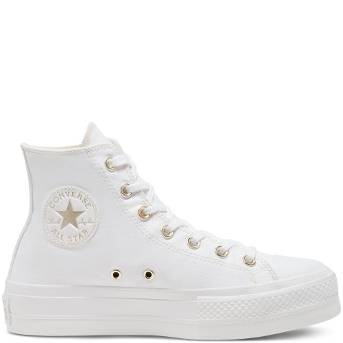 Converse - Basket haute blanche
