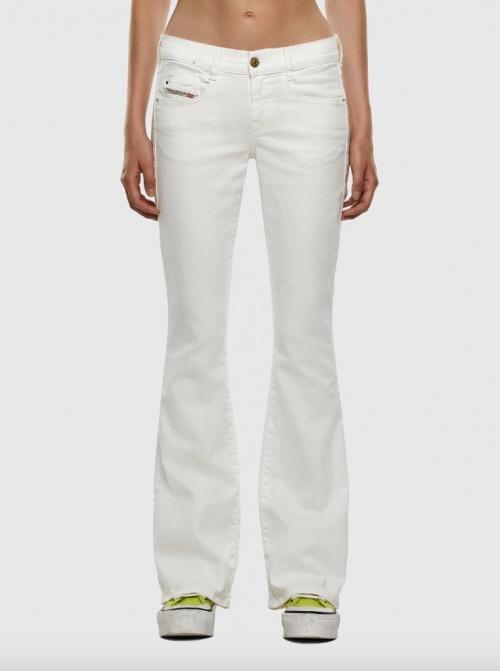 Diesel - Jean flare blanc