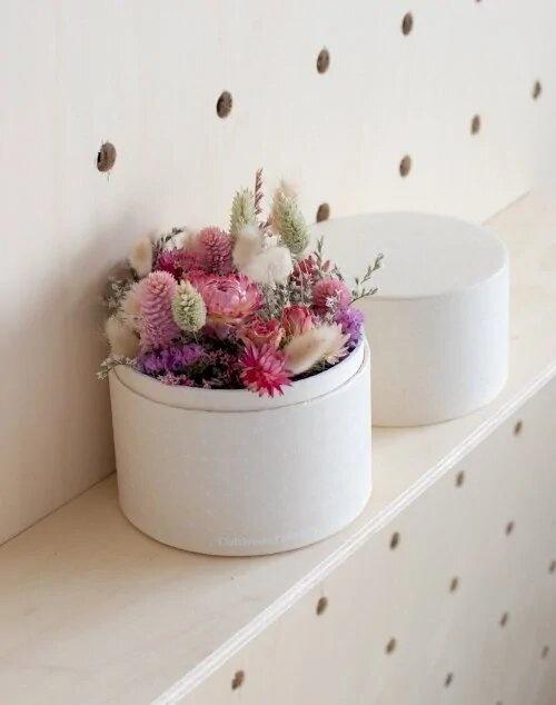 Monsieur Marguerite - Fleurs séchées, Rosée Automnale