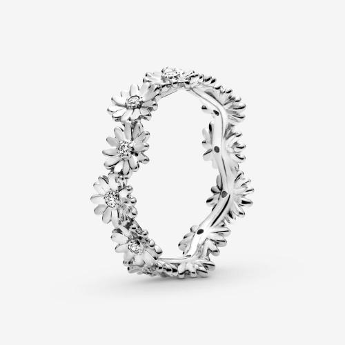 Pandora - Bague Couronne Marguerite Scintillante