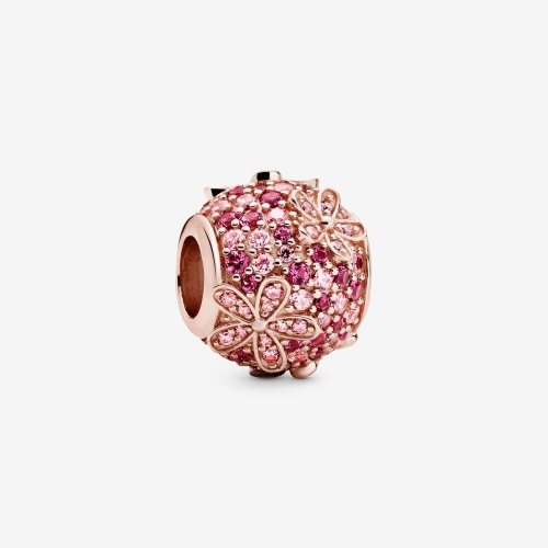 Pandora - Charm Marguerite Pavé Rose