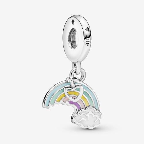 Pandora - Charm Pendant Arc-en-Ciel et Nuage
