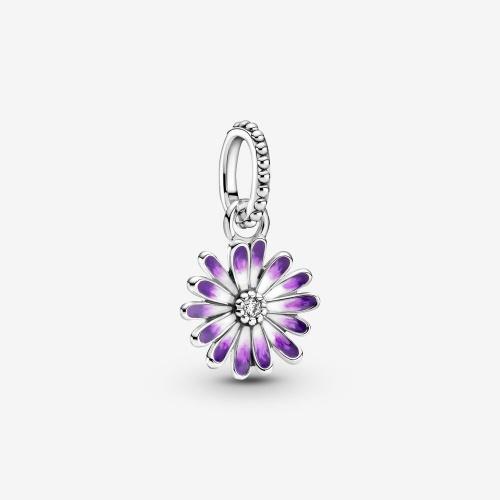 Pandora - Charm Pendant Marguerite Violette