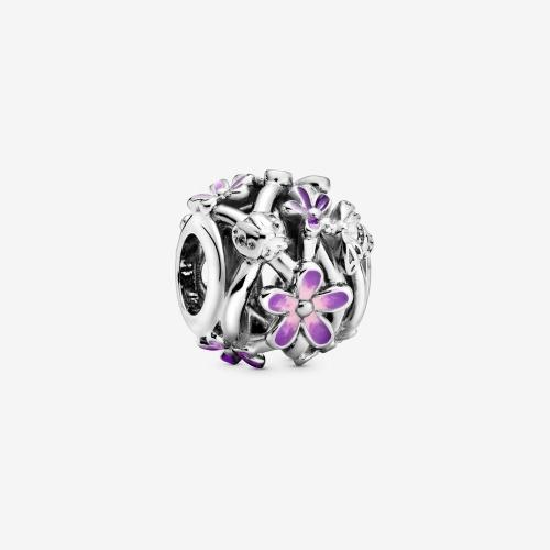 Pandora - Charm Marguerite Violette ajouré