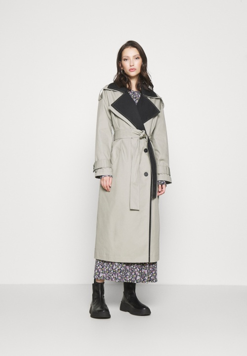 TopShop - Trench bicolore