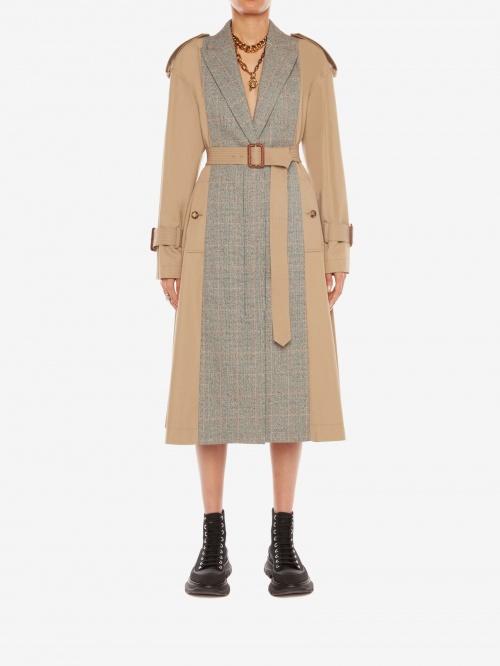 Alexander McQueen - Trench-coat Beige