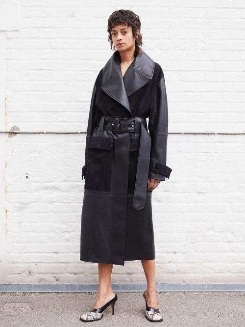 By Malene Birger - Trench coat en cuir