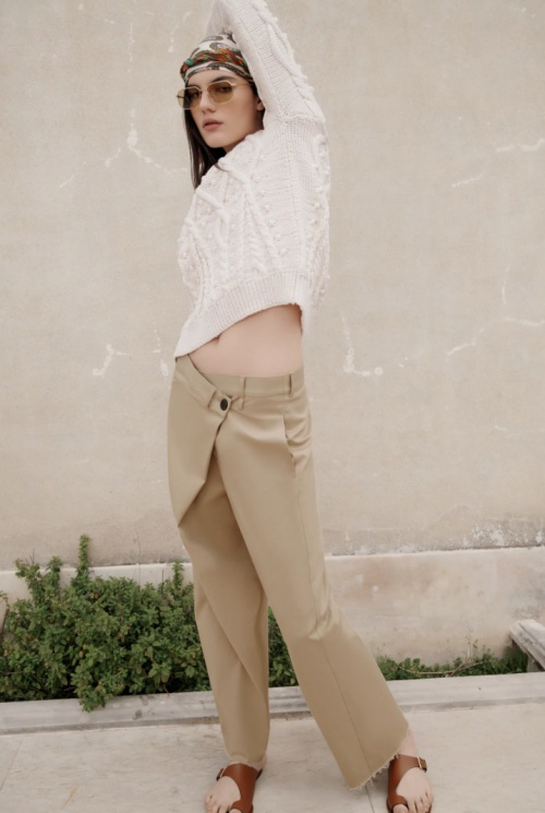 Zara - Pantalon asymétrie