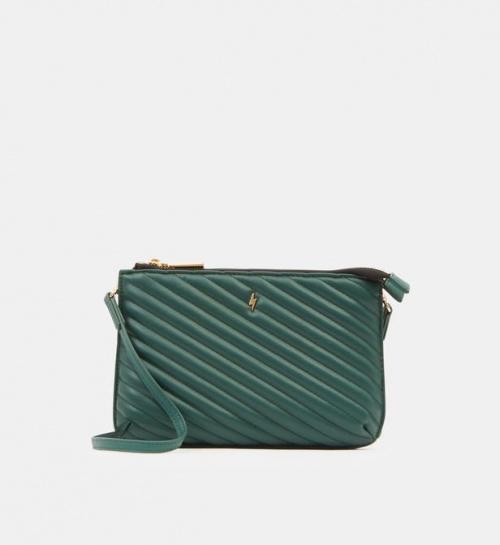 Paul Boutique London - Sac pochette matelassé vert