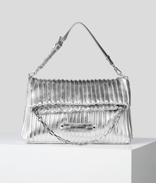 Karl Lagerfeld - Sac bandoulière argent