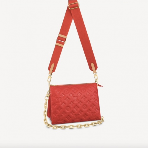 Louis Vuitton - Sac Coussin PM Rouge
