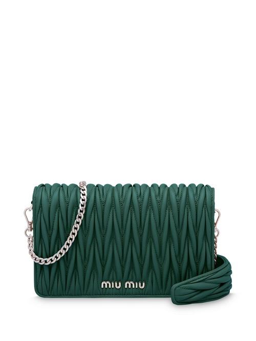 Miu Miu - Sac porté épaule vert
