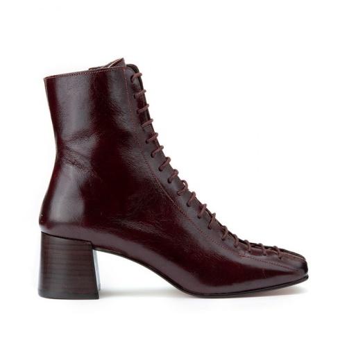 Jonak - Boots cuir à lacet