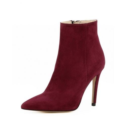 Evita - Boots bout pointu talon aiguille