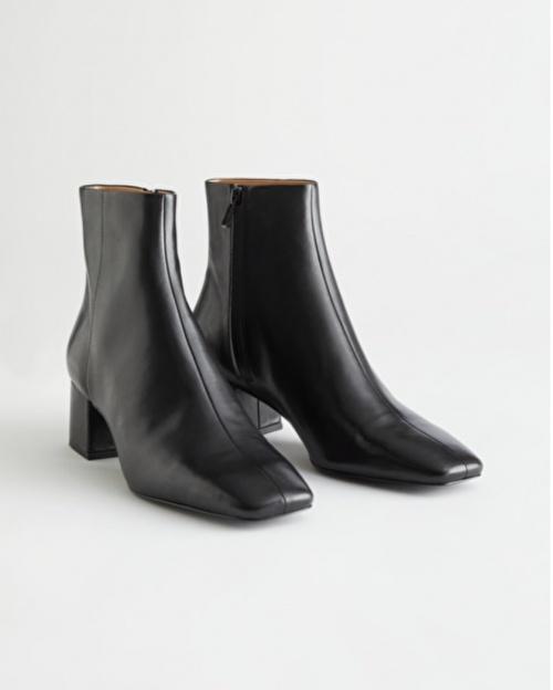 &Otherstories - Boots à talon noir