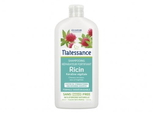 Natessance - Shampoing réparateur fortifiant ricin et kératine végétale