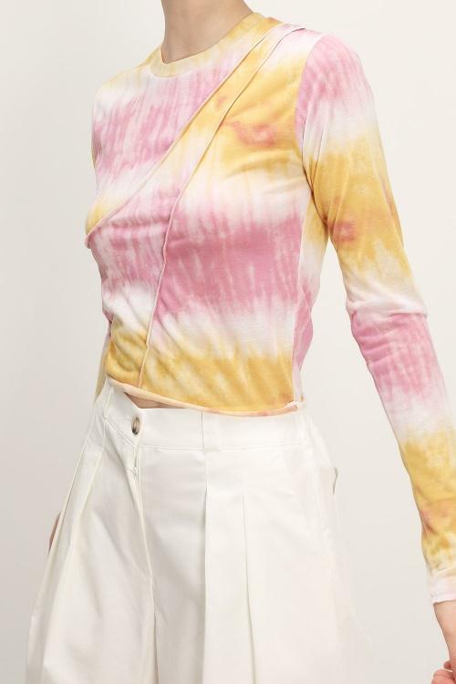 Storets - Tie Dye Cropped Top