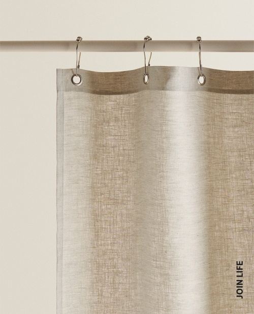 Zara Home - Rideau de douche en lin