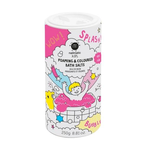 Nailmatic Kids - Sels de bain moussants roses
