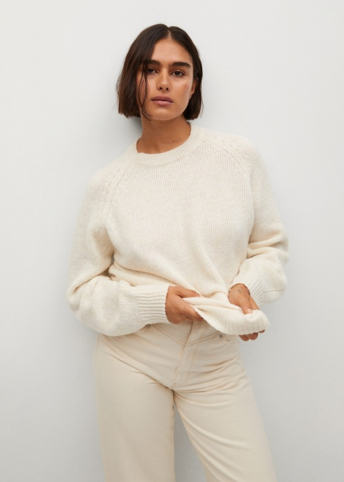 Mango - Pull over maille oversize