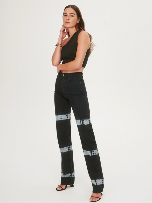 Reformation - Jean tie and dye