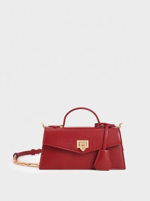 Charles&Keith - Petit sac rouge