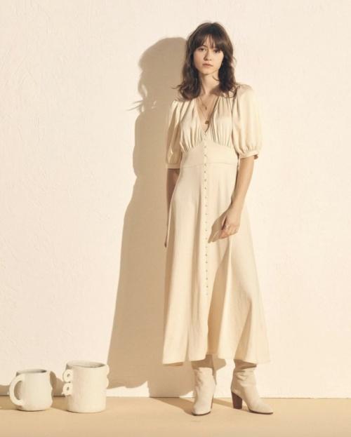 Sessun - Robe longue décolleté