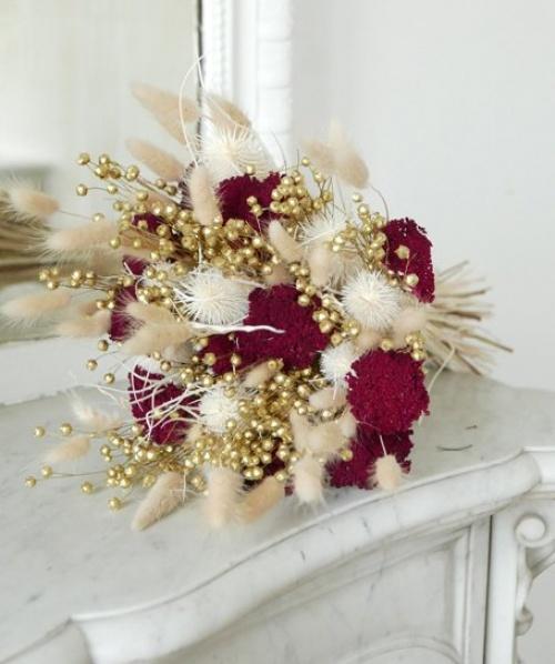 Monceau - Bouquet fleurs séchées