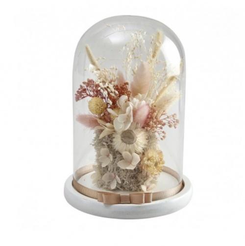 Mathilde M - Cloche de fleurs séchées