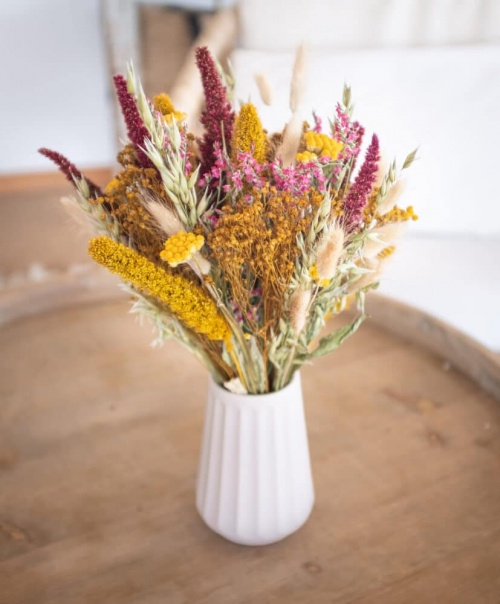Rosa Cadaquès - Bouquet de fleurs séchées