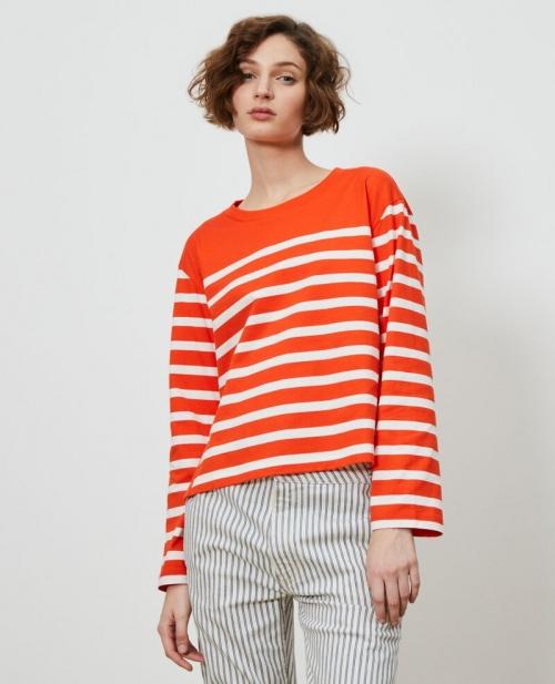 Comptoir des Cotonniers - Tee shirt marinière