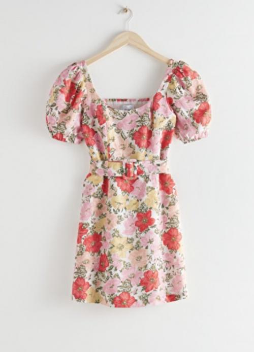 &Otherstories - Robe courte à fleurs