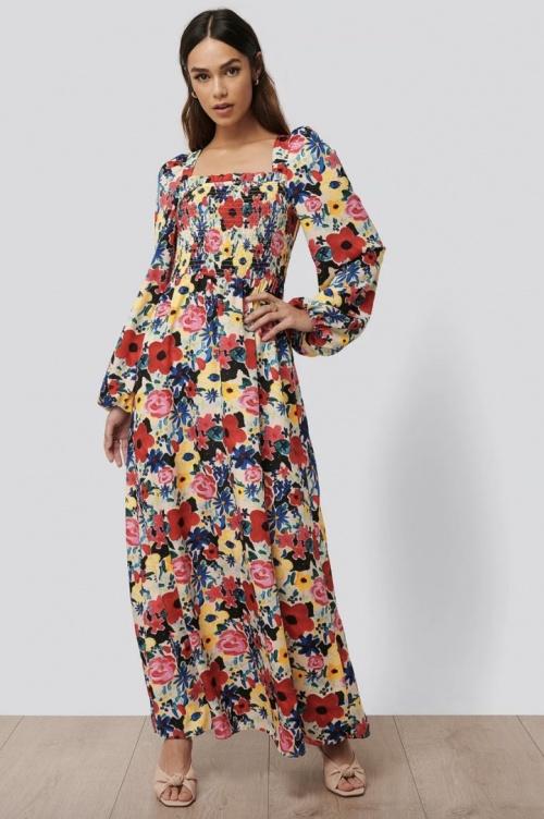 Nakd - Robe longue à fleurs