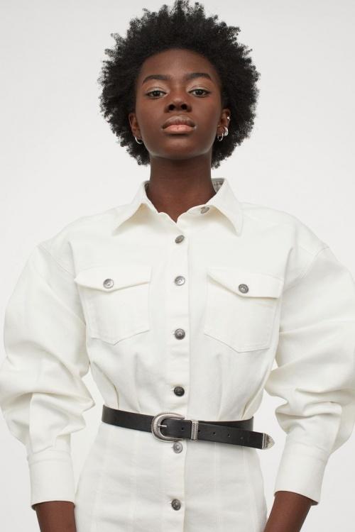 H&M - Robe en jean