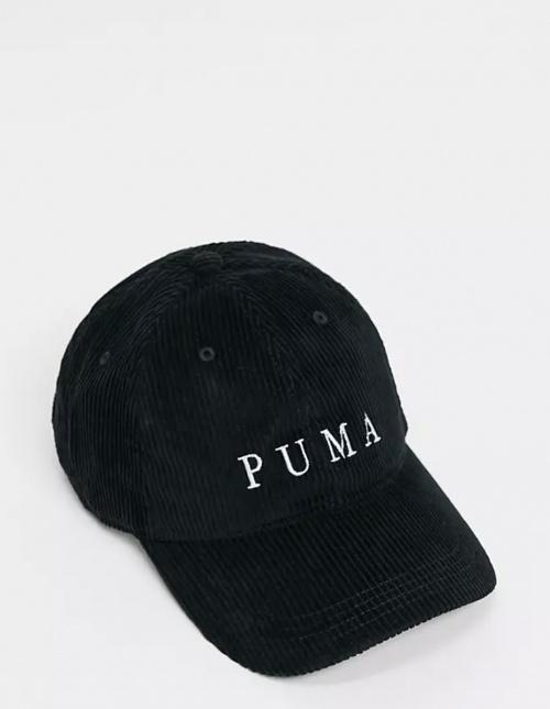 Puma - Casquette en velours côtelé
