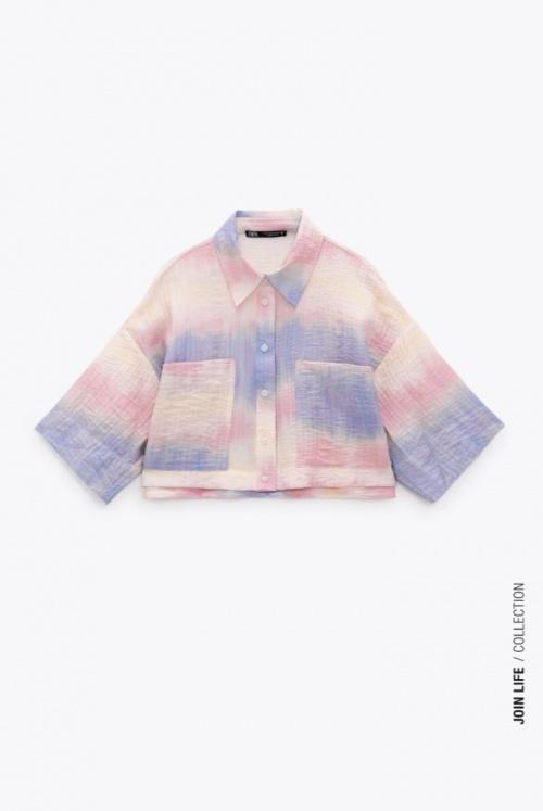 Zara - Chemise fluide Tie and Dye
