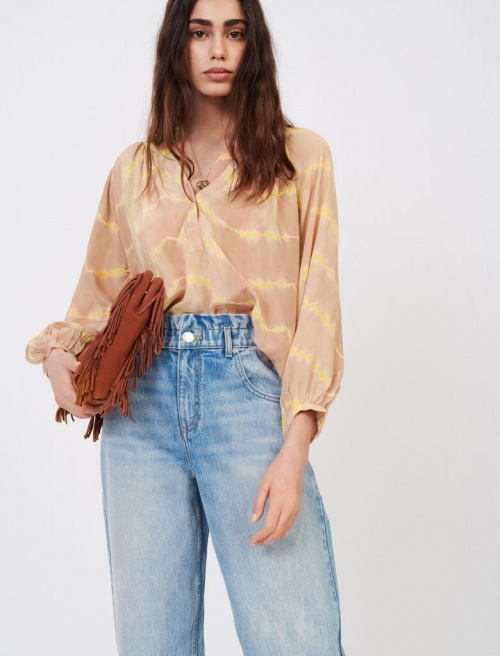 Maje - Blouse Tie and Dye