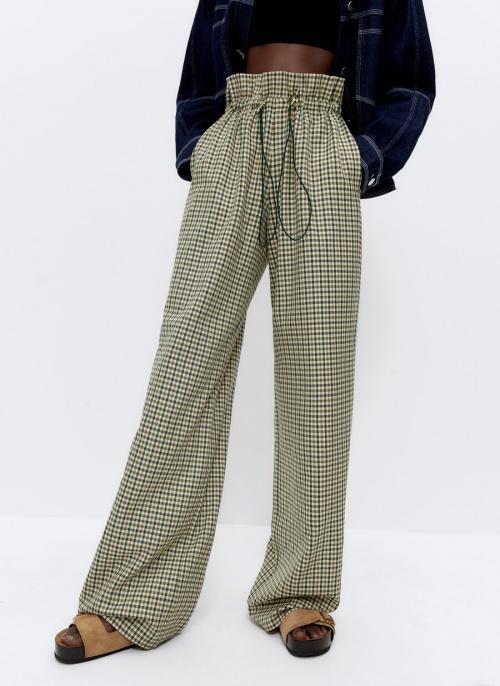 Uterqüe - Pantalon à carreaux