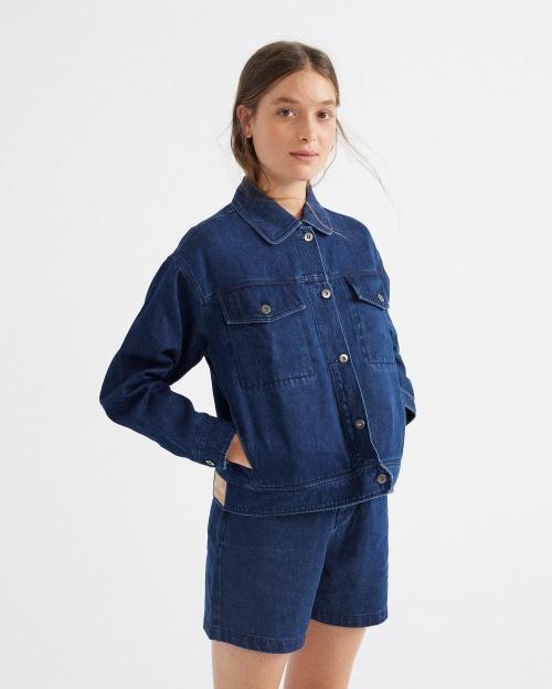 Les Apprêtés - Veste en jean