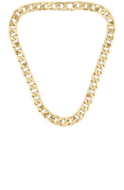 Revolve - Collier chaîne plaquée or