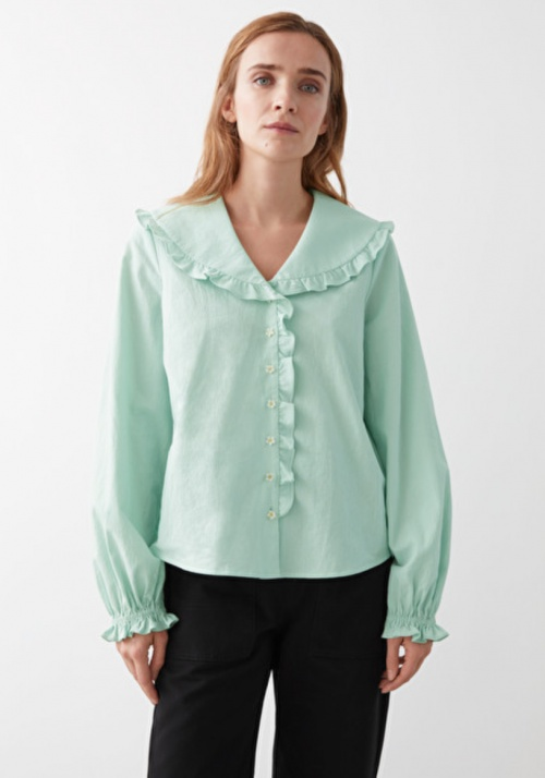 &Otherstories - Blouse volant