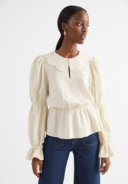 &Otherstories - Blouse col