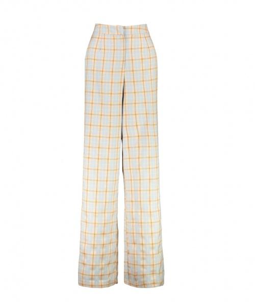 Boohoo - Pantalon de tailleur large à carreaux