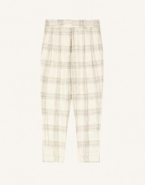 Isabelle Marant - Pantalon de tailleur à carreaux