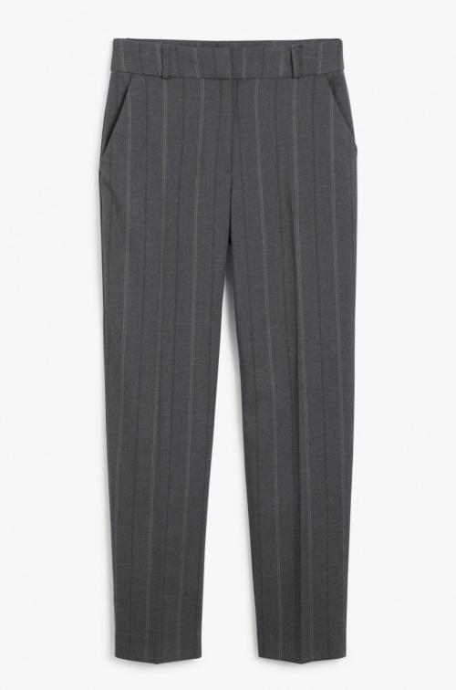 Monki - Pantalon de tailleur rayé