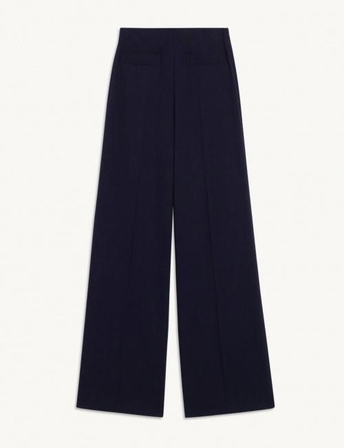 Sandro - Pantalon de tailleur en viscose