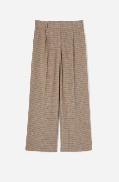 Vanessa Bruno - Pantalon de tailleur en lin et coton