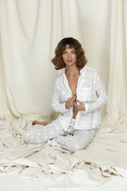 Nina des Criquets - Pyjama broderie