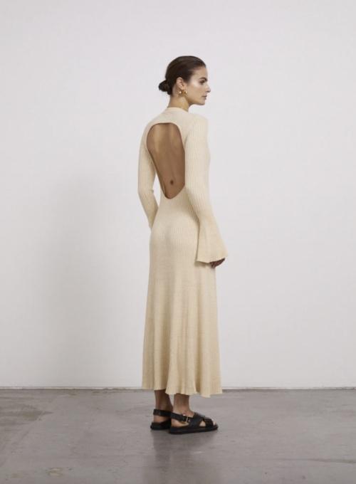 Anna Quan - Robe longue dos ouvert