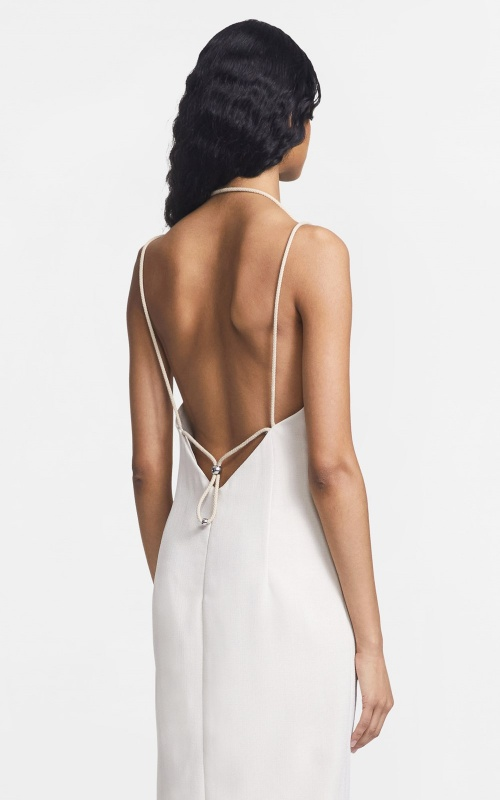 Dion Lee - Robe dos ouvert